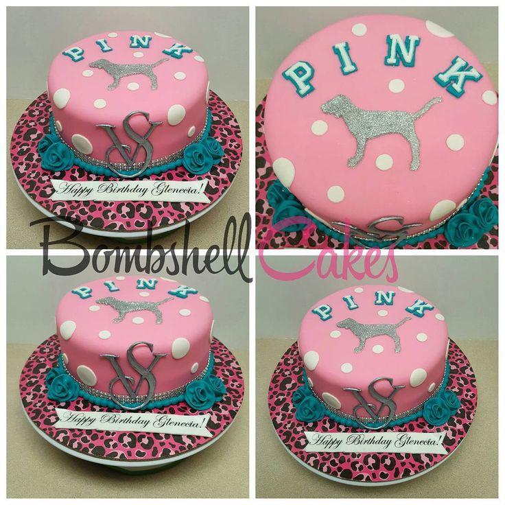Victoria secret pink cake #cakeartist #cakeart #vanilla #bombshellcakes #atl #customcakes #birthday #victoriasecret #vscake #pinkcake #vspink #atlanta #decatur #georgia #atlbaker #atlcakes #cakesinatlanta #cakelife #fondx #fatdaddios #gumpaste #animalprint cutters by @jb_cookie_cutters #jbcookiecutters #jbcutoutoflove