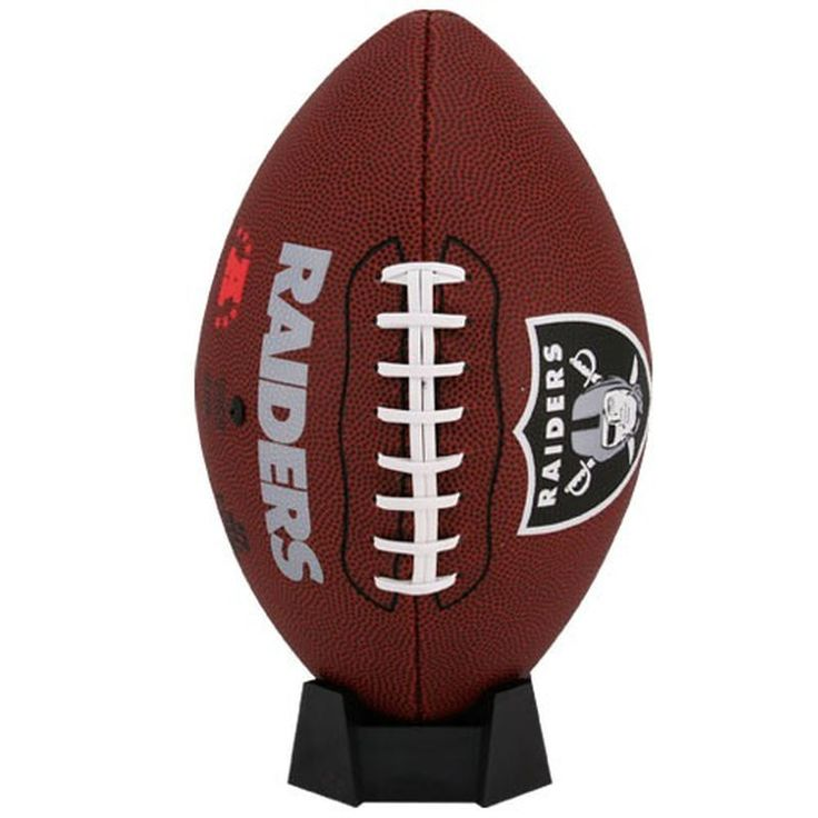 Oakland Raiders Game Time Official Size Football