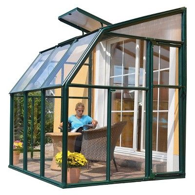 6'x6' Sun Lounge and Greenhouse 2 Clear - Rion : Target