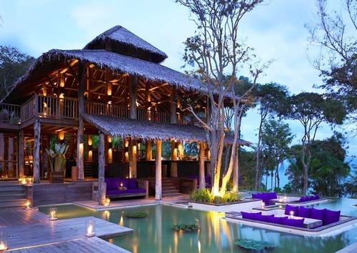 Beach residence, Six Senses Yao Noi, Ao Phang Nga National Park, Thailand