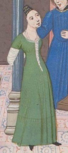 1450-80 Genève, Bibliothèque de Genève, Ms. fr. 64- Jean Mansel, La fleur des histoires bge-fr0064_303v det