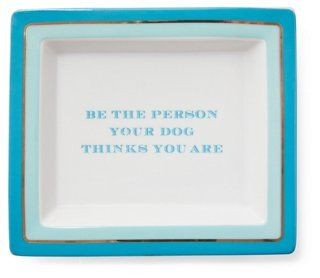 "7"" Dog Lover Quote Tray"