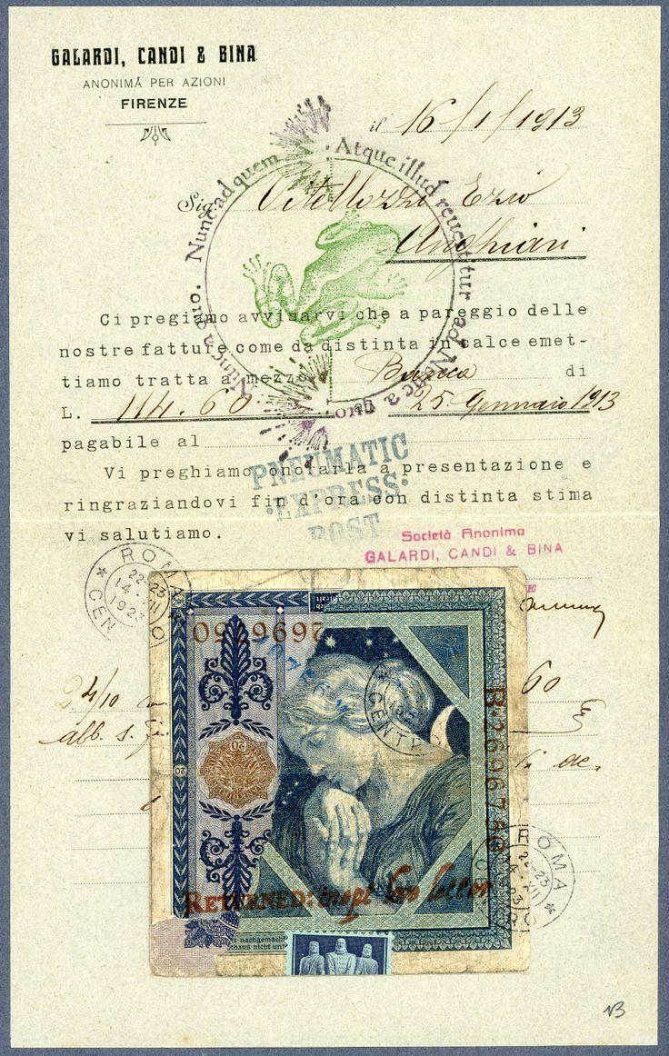 'Frog Prince' Original Dubious Document by Nick Bantock