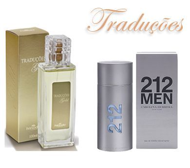 TRADUÇÃO GOLD Nº 18 MASC. : CH 212 FOR MEN