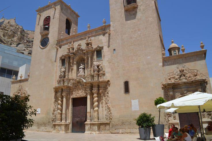 Alicante - Basilica of Santa Maria