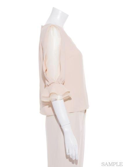 シースルーショルダーブラウス(ブラウス)|snidel(スナイデル)|ファッション通販|ウサギオンライン公式通販サイト