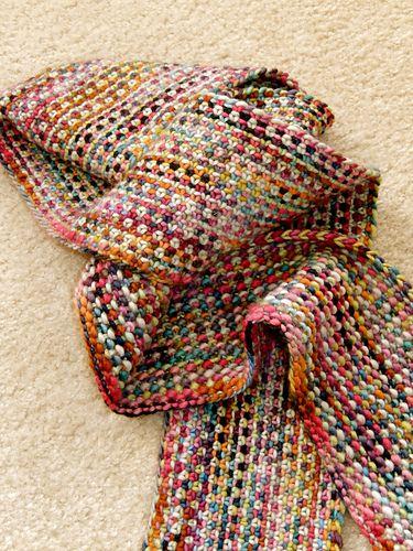 Ravelry: lisaann's Linen Stitch Scarf
