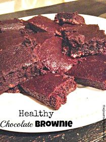 The Journey to a New Dee: Healthy Chocolate Brownie Recipe