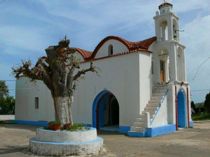 The Monastery of Artamitis - Churches in Rhodes