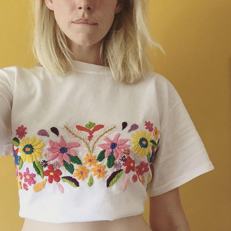 Inspiración para customizar camiseta
