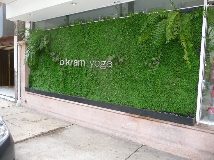 verde 360º una fachada verde que da mayor presencia en la calle