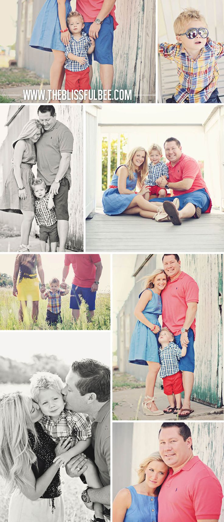 Family Photography at The Blissful Bee Blog