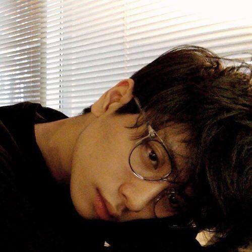 Asian boy, Fashion boy, Ulzzang boy. boy wearing glasses.
