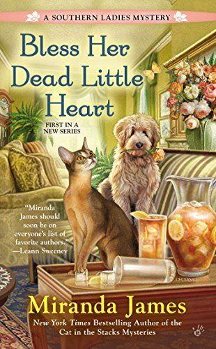 Bless Her Dead Little Heart (A Southern Ladies Mystery) by Miranda James http://www.amazon.com/dp/0425273040/ref=cm_sw_r_pi_dp_CfWKub1G8Q818