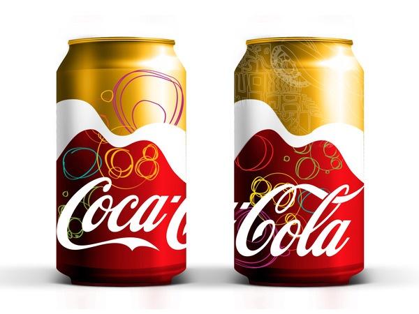 Coca Cola Rio Olympics Package Design by Akoua Smith, via Behance