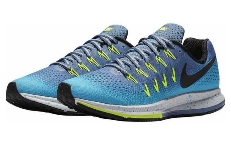 Nike Women's Air Zoom Pegasus 33 Shield Athletic Snickers Shoes Size 12 EUR 44.5 #Nike #AthleticSnickers