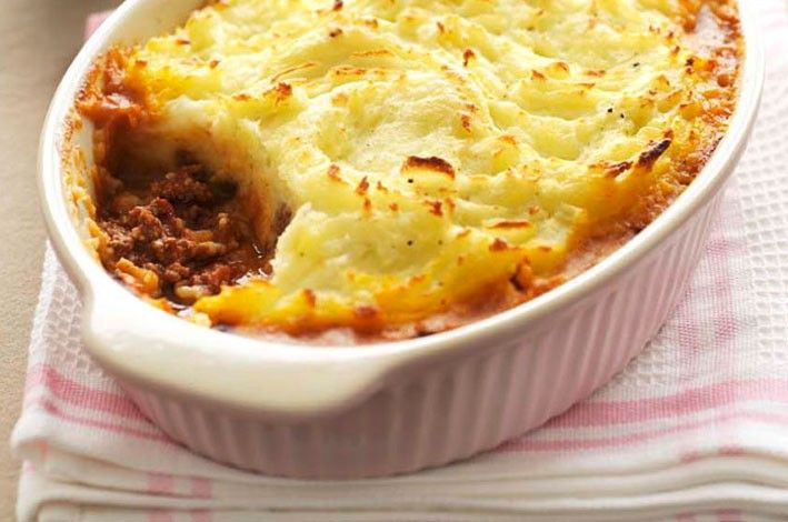 Cottage Pie - blending umami rich mushrooms and mince to create a delicious winter meal.