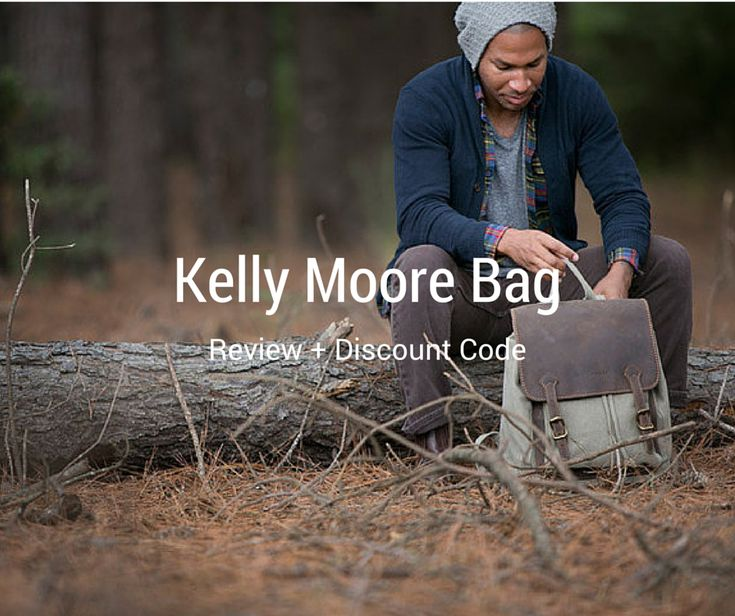 I wrote about the Kelly Moore Bag Kate and after the review there is a discount code!