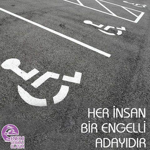 Herkesin bir engelli adayı olduğunu unutmayalım. Engelleri kaldırmaya yardımcı olalım. #3AralıkDünyaEngellilerGünü