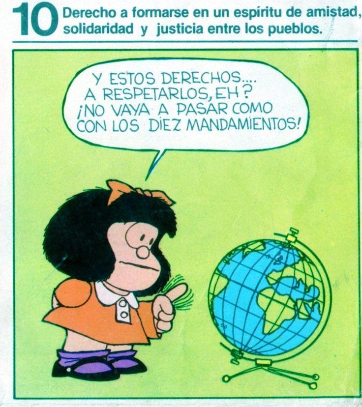 """Derechos del Niño, Quino, obsequio revista Patatín y Patatán. Como apoyo a la publicación de la revista, el Club de Leones """"Montevideo Barrio Sur y Palermo"""""""