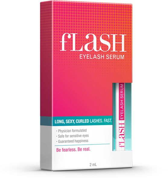 fLash eyelash growth serum - youtuber Crystal Conte uses this for her lashes & she has super long ones!