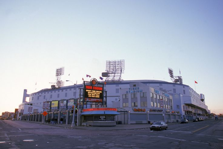 Take a look back in time during the glory days at the old Tigers Stadium in Downtown Detroit.
