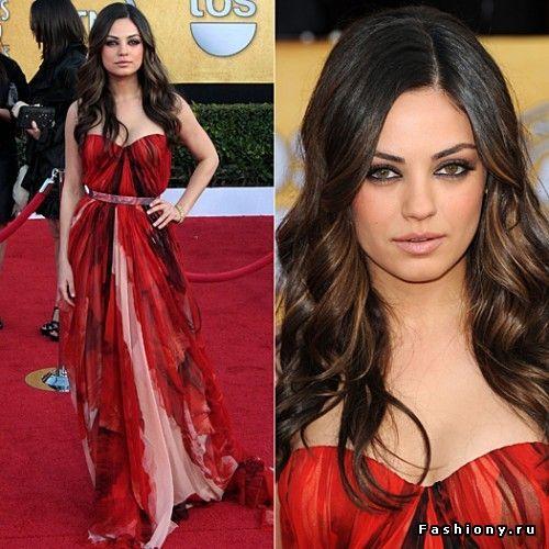 Лучшие платья знаменитостей за 2011 год по версии журнала Glamour / знаменитости в платье