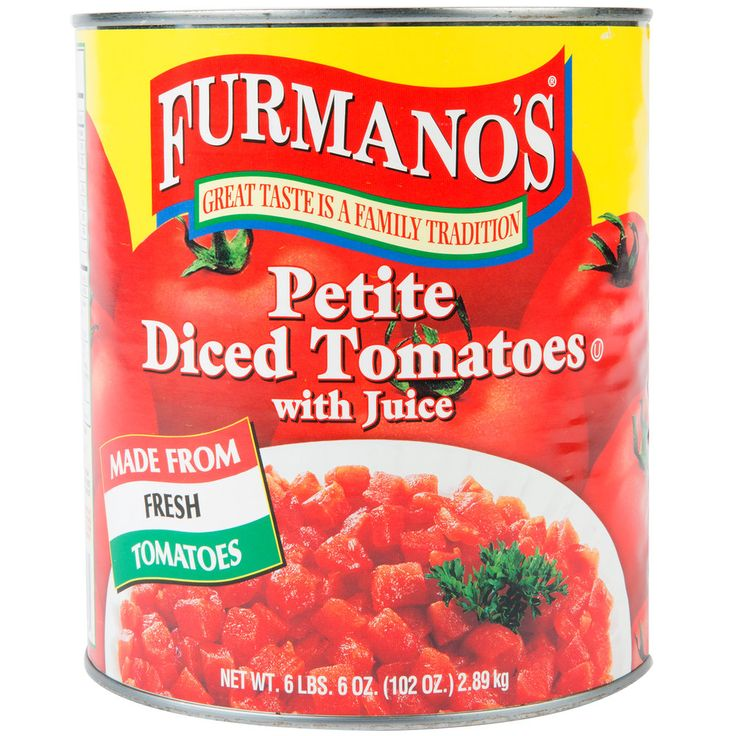 Evoke the taste of fresh-from-the-vine, homegrown tomatoes with the accessibility of these canned Furmano's petite diced tomatoes! These tomatoes are especially convenient, as they are pre-diced into petite cubes. They provide the refreshing taste of produce straight from the farmer's market to your customer's plates.<br><br> Since 1921, Furmano's heritage of canning tomatoes has produced top-quality, wholesome foods from rich, fertile farmland. Because every tomato is grown in the USA near…