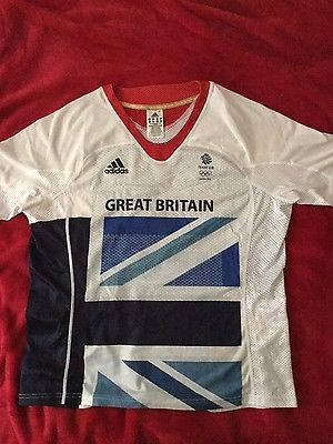 Team gb #london 2012 #running #athletics t shirt size 44/46,  View more on the LINK: 	http://www.zeppy.io/product/gb/2/162094263554/