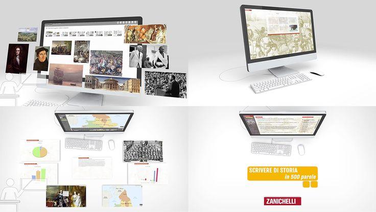 Cantina Animation- App presentation  #motiongraphic, #infographic, #niccolocellini, #lisastampfer, #animation, #school, #education, #instructional, #zanichelli