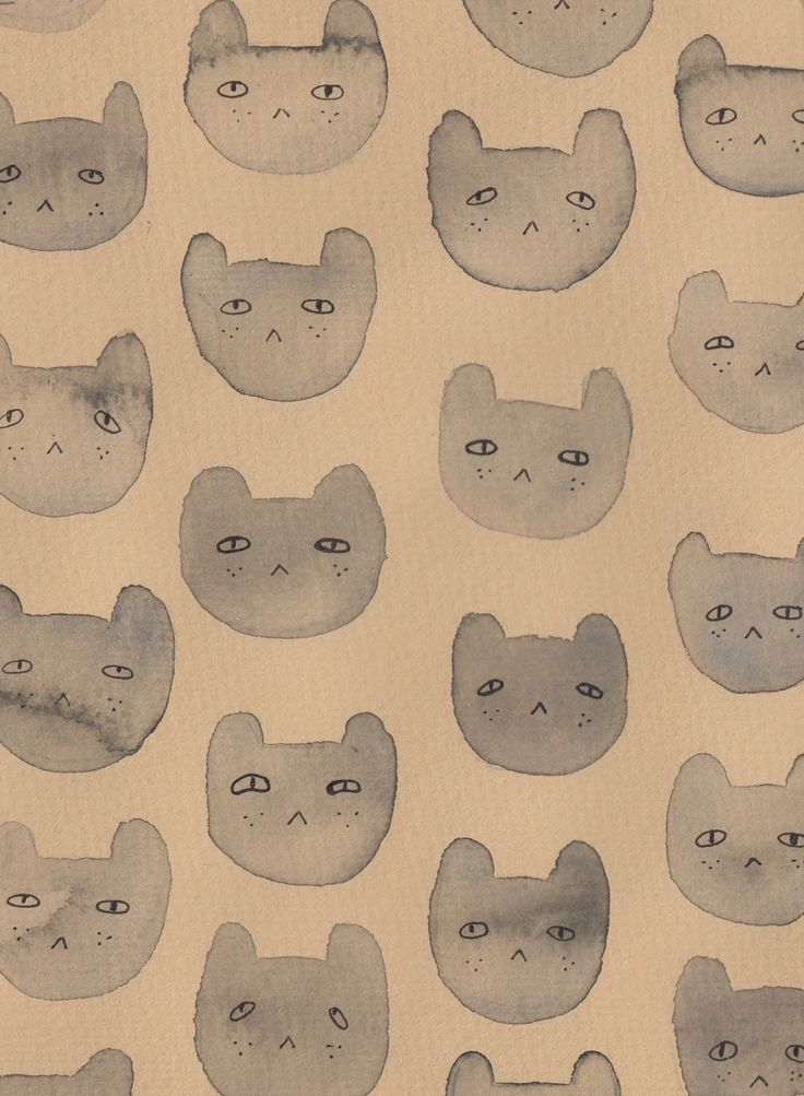 andreakang:  Cat Pattern