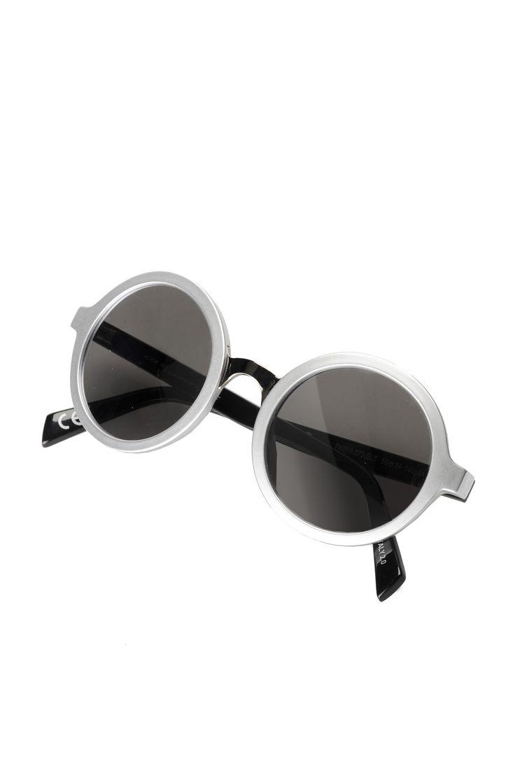 Occhiali da sole da donna Pinko con montatura tonda in metallo. - Pinko