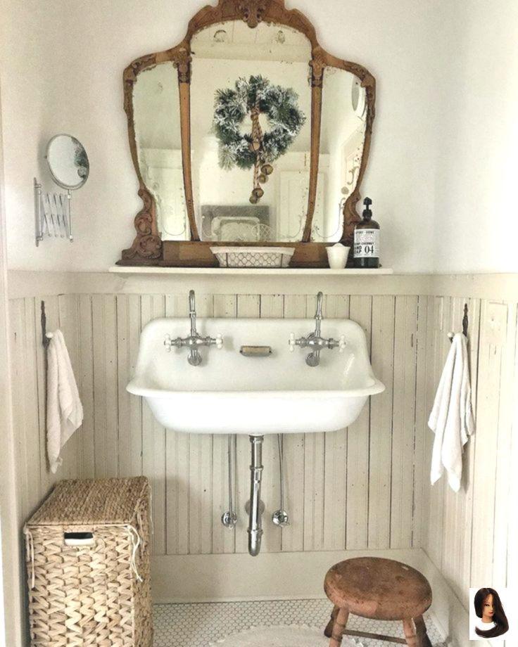 Schone Vintage Badezimmer Dekor Ideen Nail Effect Badezimmer Dekor Diyrusticbathroomi In 2020 Vintage Bathroom Decor Diy Bathroom Decor Farmhouse Bathroom Decor