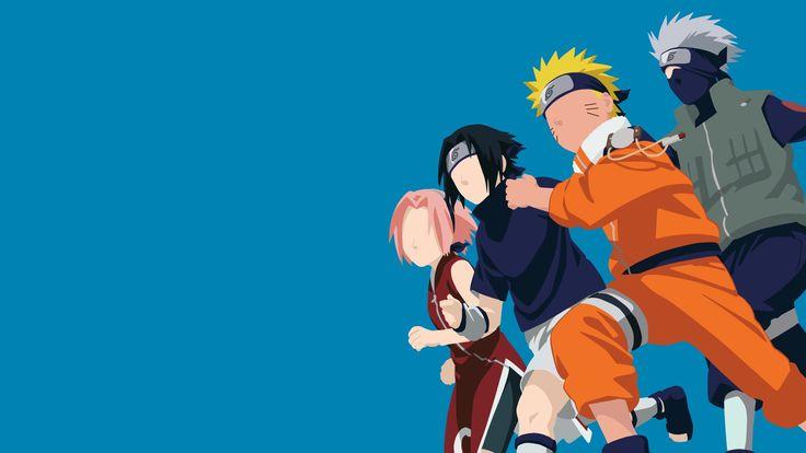 Team 7 || Naruto (Series) || Wallpaper