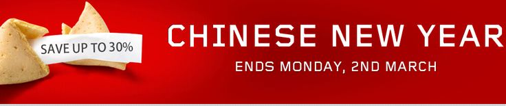 LENOVO Chinese New Year: Save up to 30% on ThinkPad tablets, ThinkPad laptops, ThinkCentre desktops, ThinkStation workstations and ThinkServer servers , eCoupon: CNY2015  Period: 17 Feb (Tue) - 2 Mar (Mon)  http://digbargain.com.au/coupon/lenovo-chinese-new-year-save-up-to-30-on-thinkpad-tablets-thinkpad-laptops-thinkcentre-desktops-thinkstation-workstations-and-thinkserver-servers/