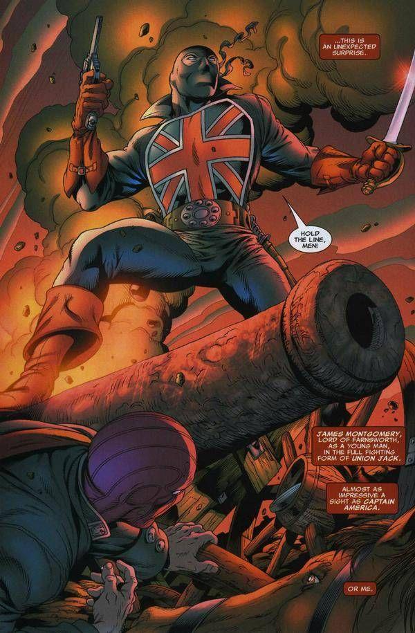 Marvel Union Jack James Montgomery Lord of Farnsworth