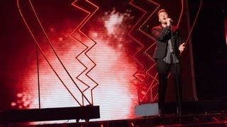 James Arthur sings The Power Of Love - Live Week 9 - The X Factor UK 2012 - YouTube