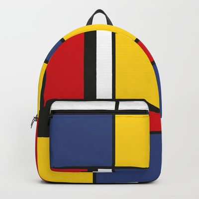 """Our Backpacks are crafted with spun poly fabric for durability and high print quality. Thoughtful details include double zipper enclosures, padded nylon back and bottom, interior laptop pocket (fits up to 15""""), adjustable shoulder straps and front pocket"""