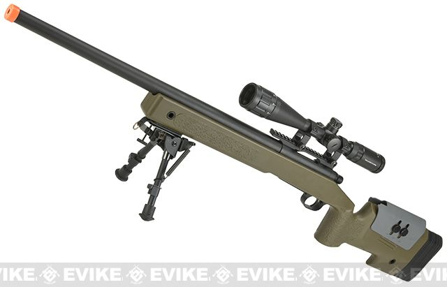 S&T USMC Style M40A3 Bolt Action Airsoft Sniper Rifle (PDI Type Trigger)…