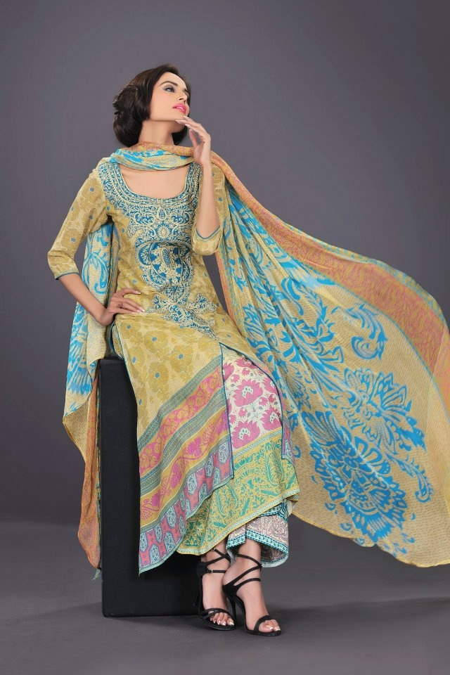 HSY lawn 2012 for summer.