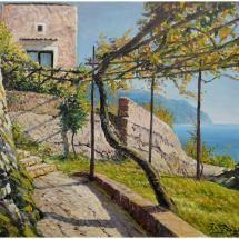 Angolo alto della costa Amalfitana