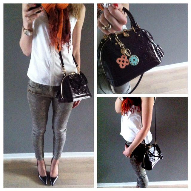 Alma PM Epi Leather - Handbags   LOUIS VUITTON