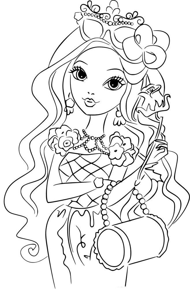 Coloriage Fille De 10 Ans Coloring Pages To Print Coloring