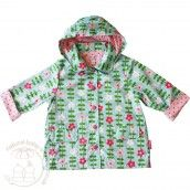 Toby Tiger Raincoat - Pink Flowers Buy yours here: http://www.naturalbabyshower.co.uk/shop-by-brand/toby-tiger.html