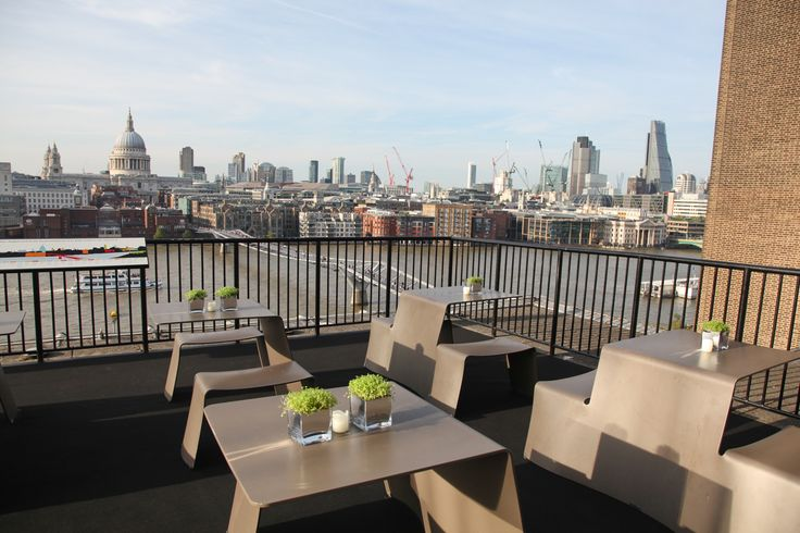 The Members Room Balcony At Tate Modern Rooftop Venues