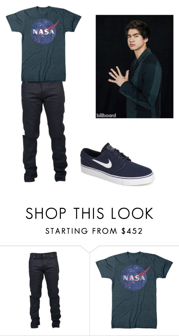 """First"" by escarletmix14 on Polyvore featuring Yves Saint Laurent, NIKE, mens, men, men's wear, mens wear, male, mens clothing y mens fashion"
