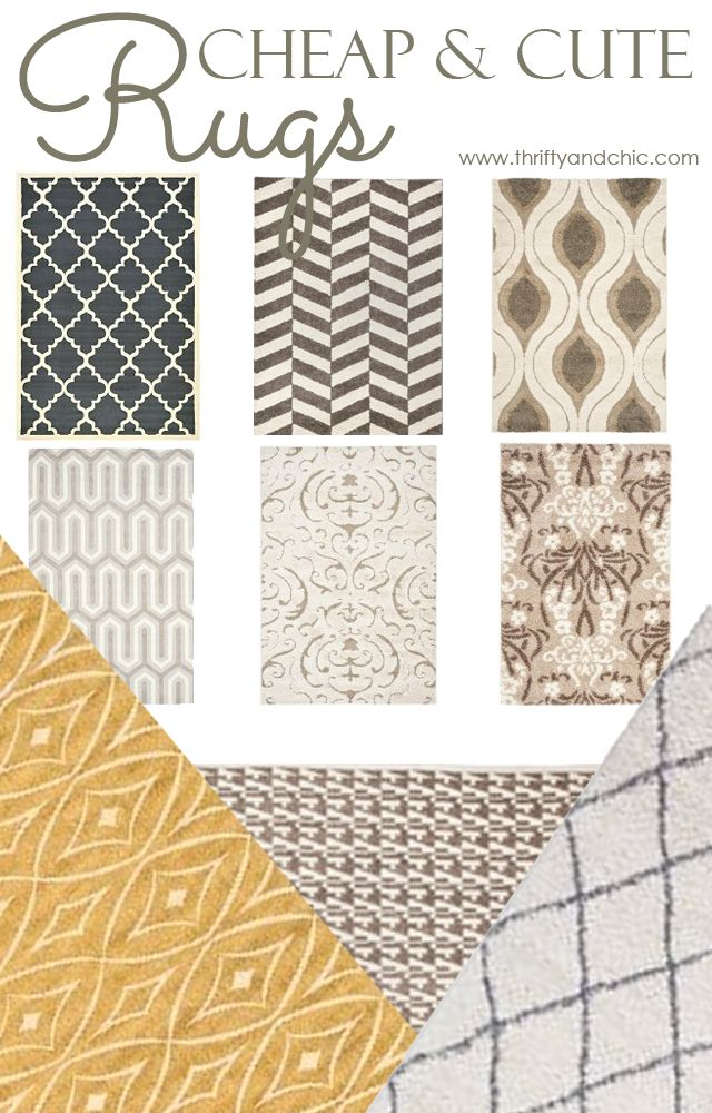 Attractive 15 Cheap And Cute Area Rugs
