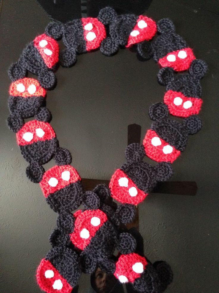 Mickey Mouse Inspired Scarf