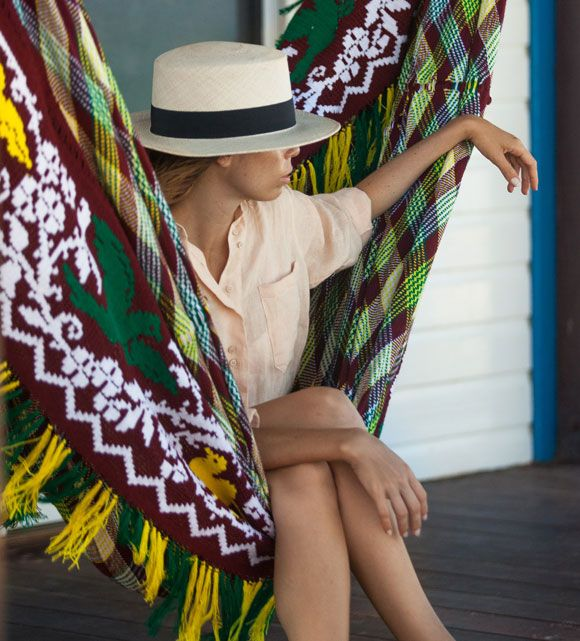 Every Chinchorro tells a story and this is colourful poetry. Hang your Paloma Chinchorro in your back yard and relax in harmony with the birds and their melodic songs. The skirt is a series of detailed patterns drawn together by a crochet technique, and its colors will last a lifetime. One hammock takes up to seven months to craft. Your hammock is a symbolic piece of art, a lot of time and dedication goes into assembling this incredible craft that is meant to make a bold statement in any…
