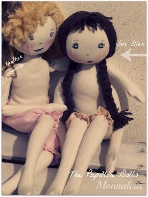 Bambole di stoffa....e abiti, Cloth Doll ...e Dress